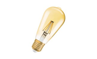 Филаментная лампа OSRAM 1906 LED 40 2,8W/824 230V FIL GOLD E27 (21W) FS 4058075808706 Series