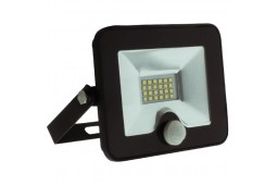FL-LED Light-PAD SENSOR 20W Black 4200К 1700Лм 20Вт AC195-240В 140x169x28мм 430г