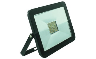 FL-LED Light-PAD 10W Black 6400К 850Лм 10Вт AC195-240В 140x125x25мм 385г